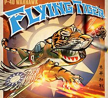 "WINGS Series ""FLYING TIGER"" by Pat McNeely"