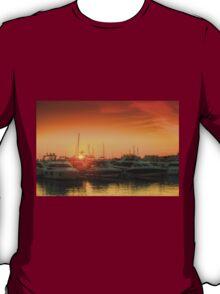 Marina Sunset T-Shirt