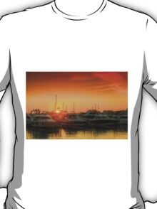 Marina Sunset T-Shirt