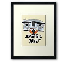 Johnny 5 is ALIVE! Framed Print