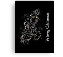 Christmas Sci-Fi - III Canvas Print