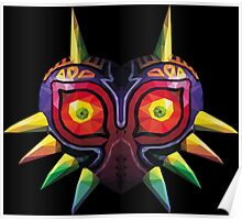 Triangle Majora's Mask Poster