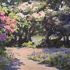 Rhodies in the Sun by Karen Ilari