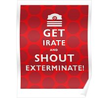 GET IRATE Poster