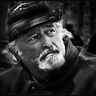 Civil War reenactor by Richard Gaffney