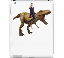 Capaldi on a Dinosaur iPad Case/Skin