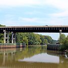 Roanoke River Bridge, Williamston, NC by WeeZie