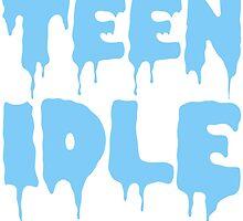 Marina and The Diamonds - Teen Idle (Blue) by elecxra
