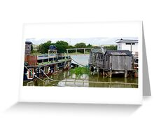 Harbour Life 2 Greeting Card
