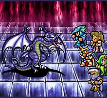FF4 Bahamut Battle by likelikes