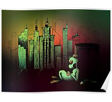 Rat In The City Poster