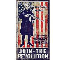 Jefferson Revolution Propaganda Photographic Print