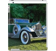 1933 Packard 1006 Convertible 2 iPad Case/Skin