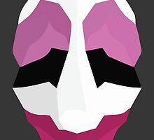 Jim Hoxworth - Payday Retro Mask by Odin Hullekes
