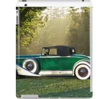 1933 Packard 1006 Convertible 1 iPad Case/Skin