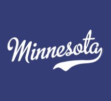 Minnesota Script White by USAswagg