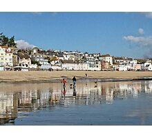 Lyme , Dorset  November 2010 Photographic Print