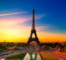 Eiffel Tower by masxxi