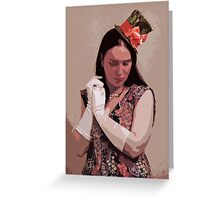 The Madness In Me Greeting Card