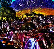 Peaceful Mountain by Terry Bailey