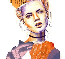 Tangerine Violet by Emily Brinkley