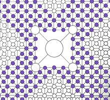 Invading Purple Circles by audreycobb