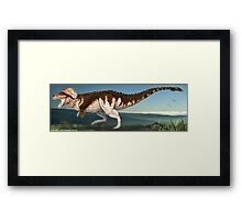 Tyrannosaurus Rex Finished Reconstruction Framed Print
