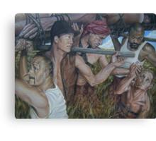 """""""The Myth  of Self"""" acrylic on canvas Canvas Print"""