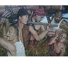"""The Myth  of Self"" acrylic on canvas Photographic Print"