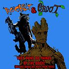 Rocket and Groot by Mark Cox