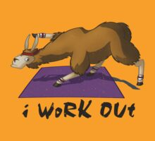 Workout Llama by AngelaZA