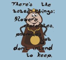 Cogsworth's Take on Love T-Shirt