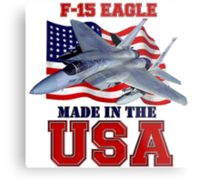 F-15 Eagle Made in the USA Metal Print