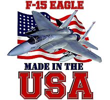 F-15 Eagle Made in the USA Photographic Print