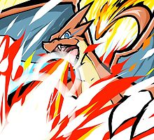 Mega Charizard Y | Overheat by ishmam