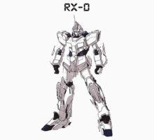 RX-0 Unicorn Gundam Kids Clothes