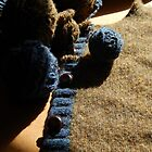 Unraveling a Wool Sweater by Sandra  Aguirre
