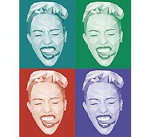 Miley meets Warhol Photographic Print