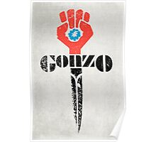 Gonzo Fist Poster