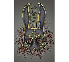 I Want to Take the Ears Off - Bioshock Photographic Print