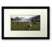 Wast Water with a Herdwick Sheep Framed Print