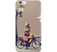 Police bike Patrol iPhone Case/Skin