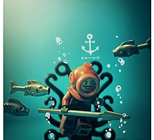 Vintage Diver by bykai