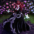 Vampire Garden by Red-wolf-Ink