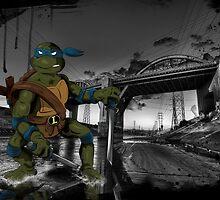 MrWetpaint x Turtles - Leo by MrWetpaint