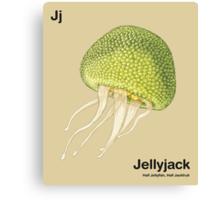 Jj - Jellyfruit // Half Jellyfish, Half Jackfruit Canvas Print