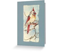 With Touches of Red Greeting Card