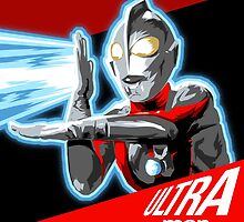 """ULTRAMAN"" by Pat McNeely"