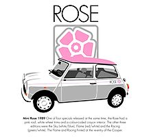 Classic 1989 Mini Rose  Photographic Print