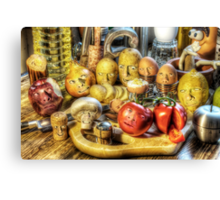 Eggsecution 2014 - The Great Grocery Massacre Canvas Print